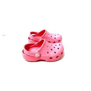 Adorable Pink Baby Crocs! EUC!